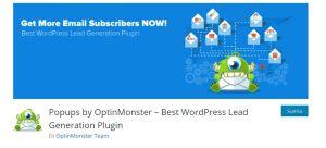 Optin Monster Plugins di WordPress per la creazione di popup performanti