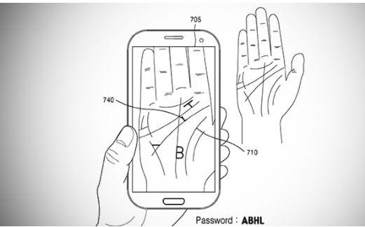 Riconoscimento Scansione della mano per Samsung