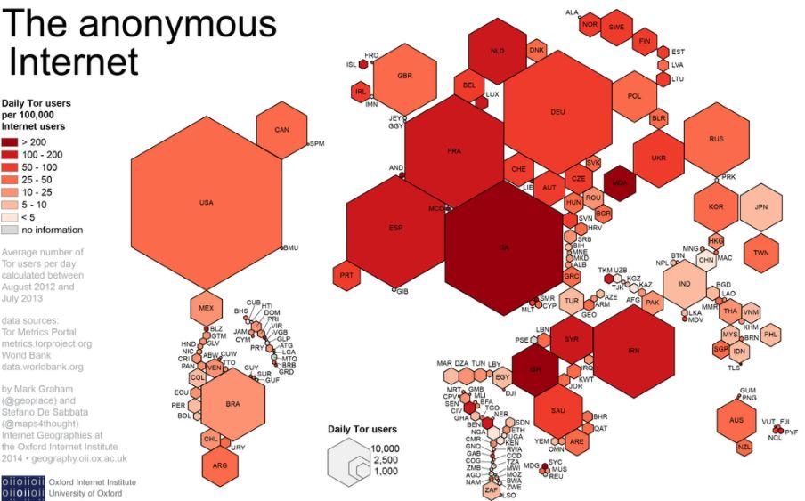 Tor rete di comunicazione web anonima