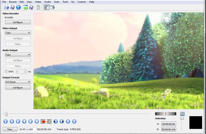 Software per realizzare video Pad Editor