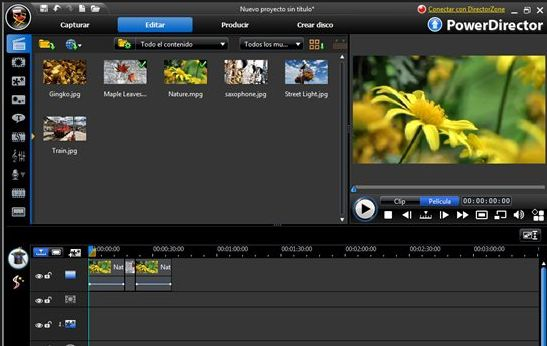 Software per realizzare video Cyberlink Powerdirector