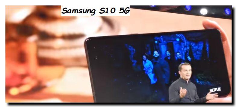 Smartphone Samsung con tecnologia 5G