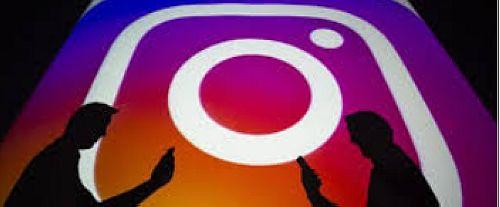 Esempio di schermata di instagram