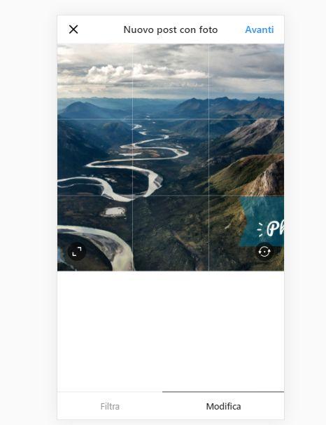 Come caricare da Browser Chrome  Opera e Firefox immagini su Instgram