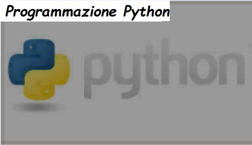Linguaggio di Programmazione Python