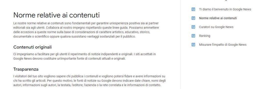Come iscrivere il tuo sito a Google News requisiti autorali
