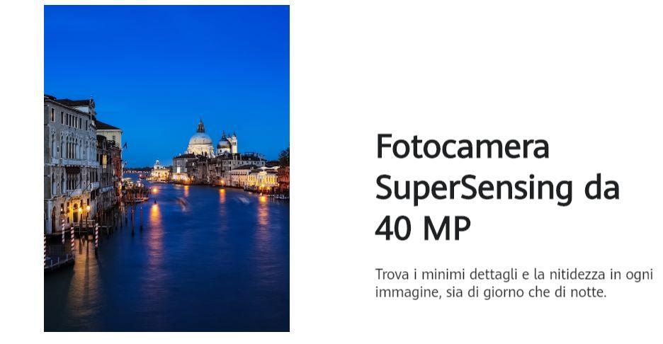 Cellulare Cinese Huawei Mate 30 Pro con telecamera Super Sensing da 40 MP