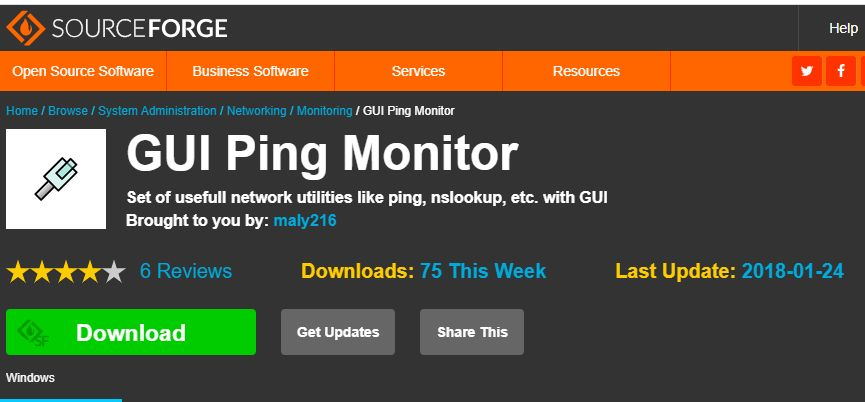 Gui Ping Monitor