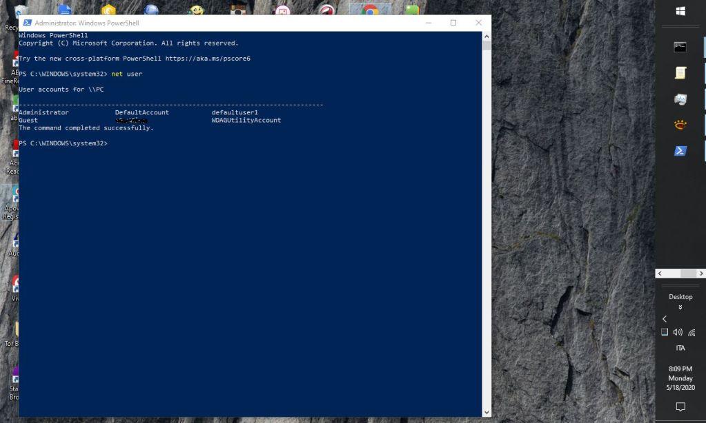 Come abilitare l'amministratore di sistema in Windows 10