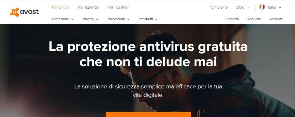 Avast per proteggere il tuo computer da attacchi hacker