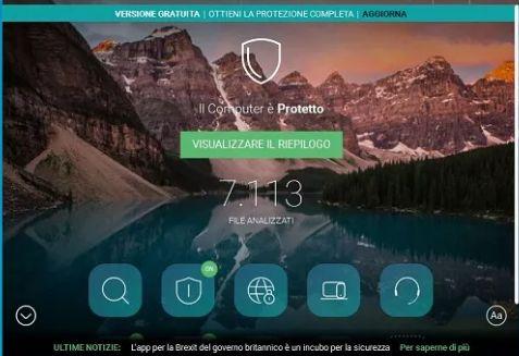 Pandra Free uno dei migliori Antivirus gratuiti in circolazione
