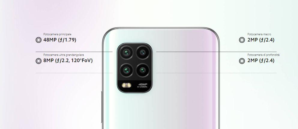 Gruppo fotocamere quadrangolare Cellulare Xiaomi