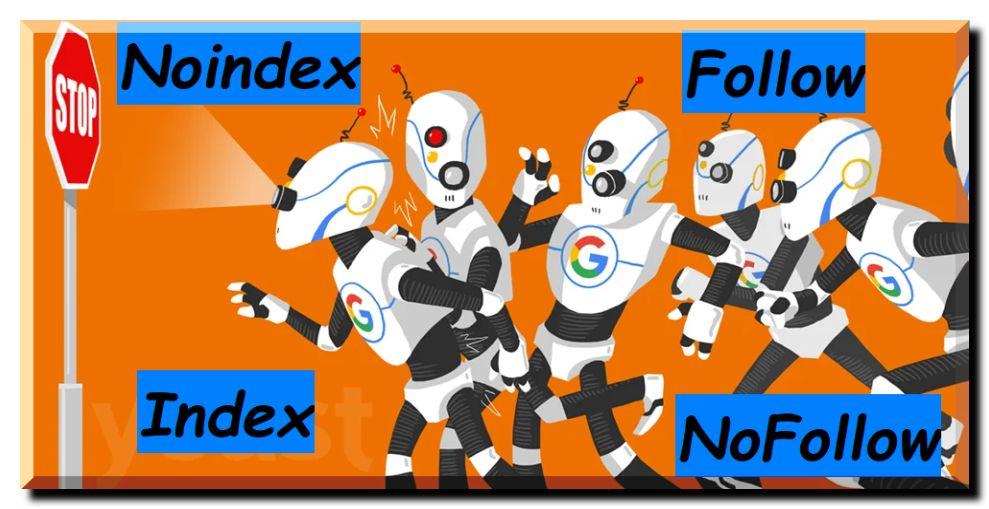 Tecniche specifiche SEO per applicare gli attributi noindex nofollow index follow per il SEO dei motori di ricerca