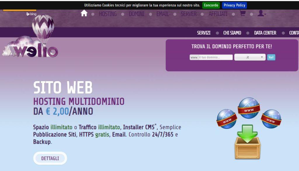 Welio share hosting