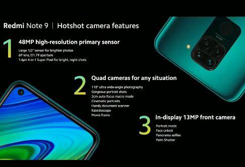 Smartphone Xiaomi Redmi 9A gruppo ottico telecamera