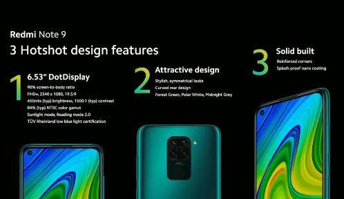 Design Cellulare Smartphone Xiaomi Redmi 9A