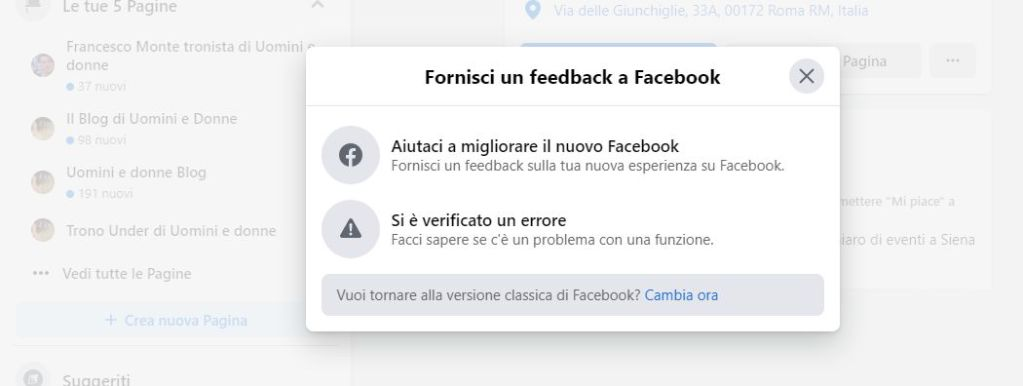 Facebbok e la nuova funzionalità per  l'upload di video