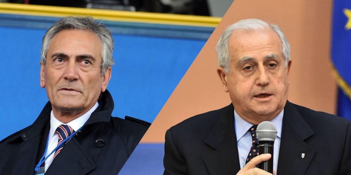 Gravina (Lega Pro) e Fabbricini (Figc)