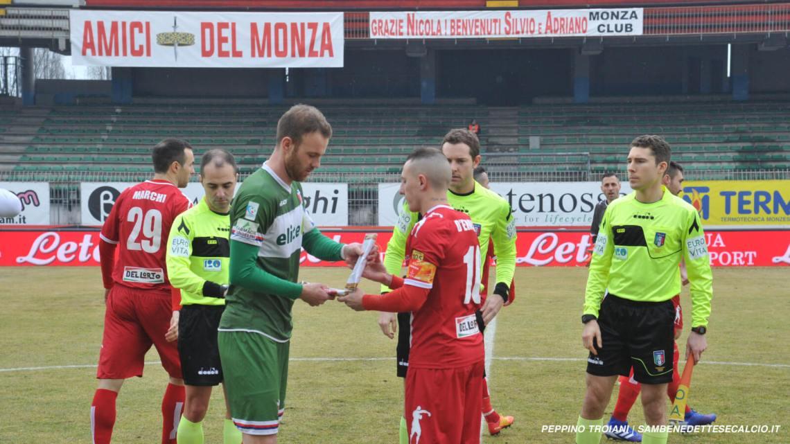 Diretta Monza-Samb 3-2