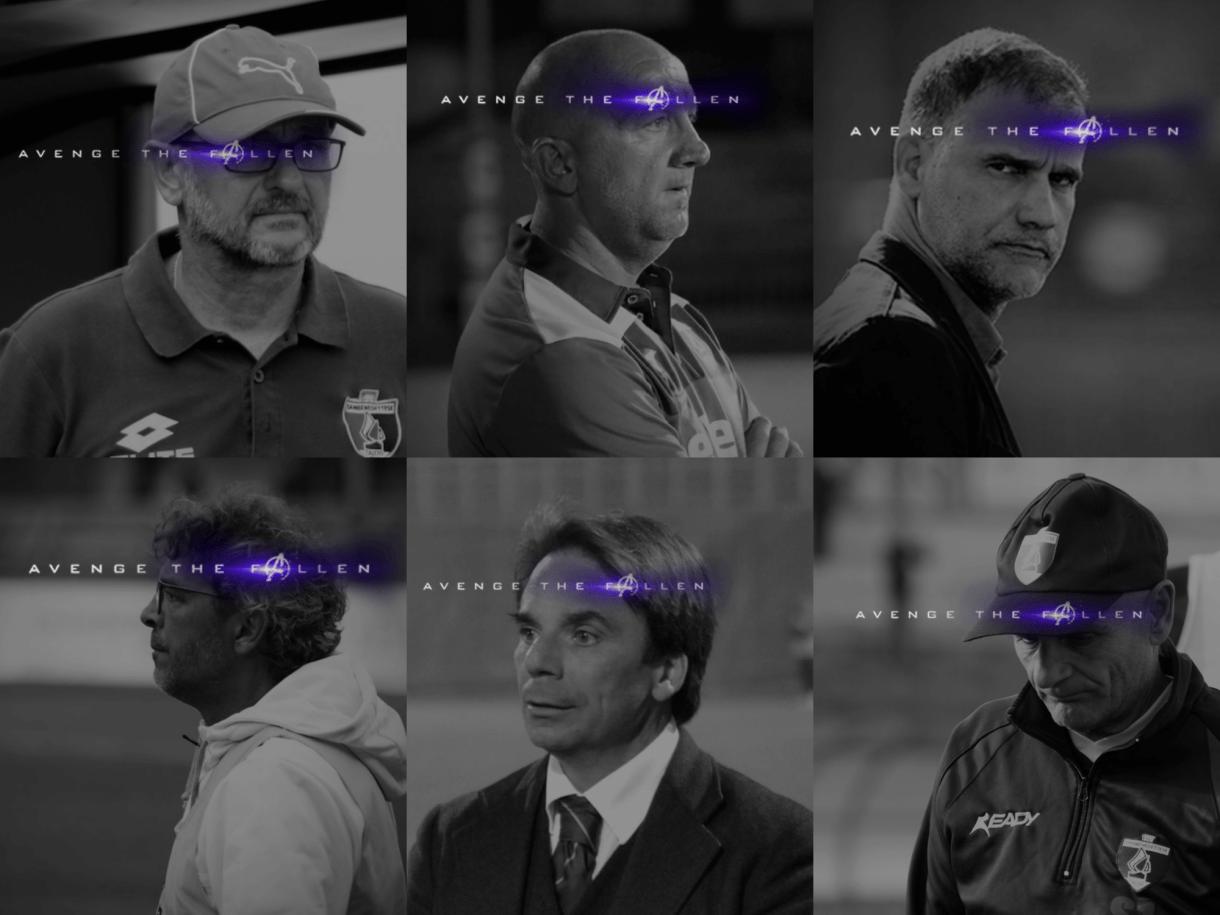 Beoni - Palladini - Sanderra - Moriero - Capuano - Roselli