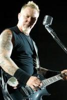 James Hetfield, Metallica. Photo by Ros O'Gorman