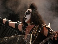 Gene Simmons, Kiss. photo by Tim Cashmere
