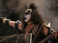 Gene Simmons of Kiss photo by Ros O'Gorman images noise11.com