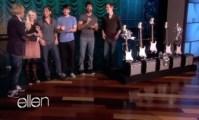 Ellen Awards Walk Off The Earth Guitars and Amps