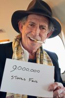 Keith Richards on Facebook