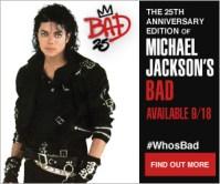 Michael Jackson Bad 25th anniversary images