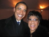 Barack Obama and Bettye LaVette