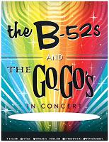 B-52s Go-Gos tour