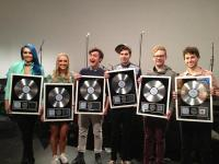 Sheppard awarded platinum record, Noise11, Photo
