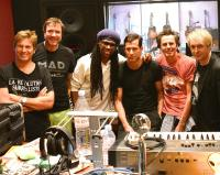 Duran Duran and Nile Rodgers photo: Nile Rodgers Twitter