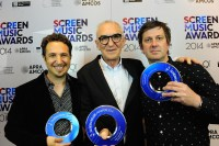 Antony Partos Cezary Skubiszewski David McCormack at APRA Screen Music Awards