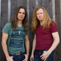 Kiko Loureiro and Dave Mustaine of Megadeth music news noise11.com
