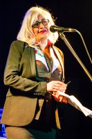 Mary Mihelakos announcing Leaps and Bounds 2015, photo by Ros O'Gorman