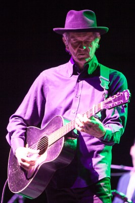 Rodney Crowell performs at the Palais Theatre in St Kilda Melbourne on Thursday 25 June 2015. Photo Ros O'Gorman