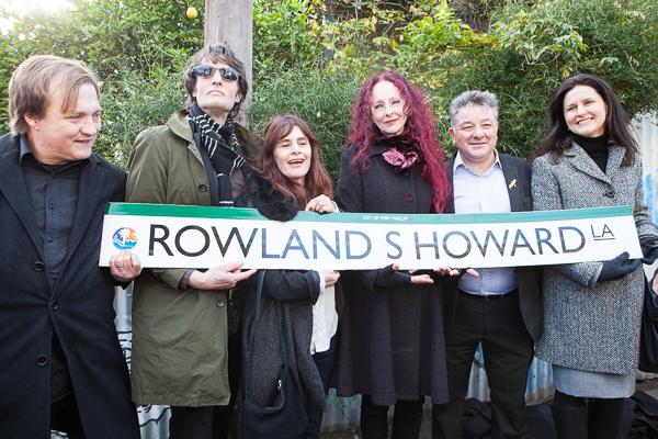 Roland S Howard Lane Opening Ceremony St Kilda. Photo by Ros O'Gorman