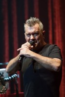 Jimmy Barnes performs at the Palais in St Kilda Melbourne on Saturday 18 July 2015 as part of the Flesh and Wood Tour 2015.