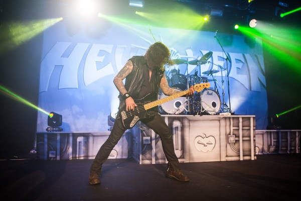 Helloween perform in Melbourne at 170 Russell on Wednesday 14 October 2015. Photo by Ros O'Gorman