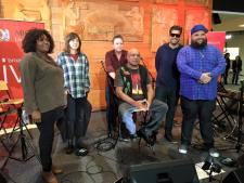 Archie Roach and friends at ABC 774