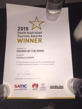 Sounds by the River tourism prize, music news, noise11.com