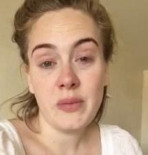 Adele not feeling well