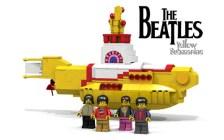 The Beatles Yellow Submarine Lego