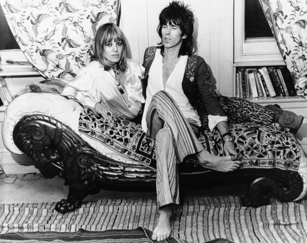 Keith Richards' actress ex Anita Pallenberg dies aged 73