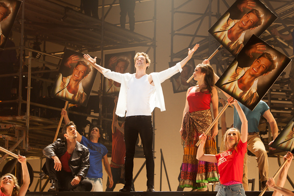 Jesus Christ Superstar opens in The State Theatre Melbourne on Saturday 29 July 2017. Photo by Ros O'Gorman