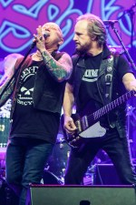Rose Tattoo Angry Anderson and Mark Evans. Photo by Ros O'Gorman