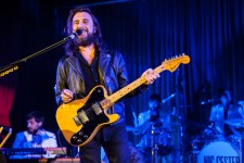 Nic Cester at Memo in St Kilda. Photo by Ros O'Gorman