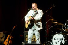 Colin Hay performs at the Recital Centre in Melbourne on 11 February 2018. Photo by Ros O'Gorman